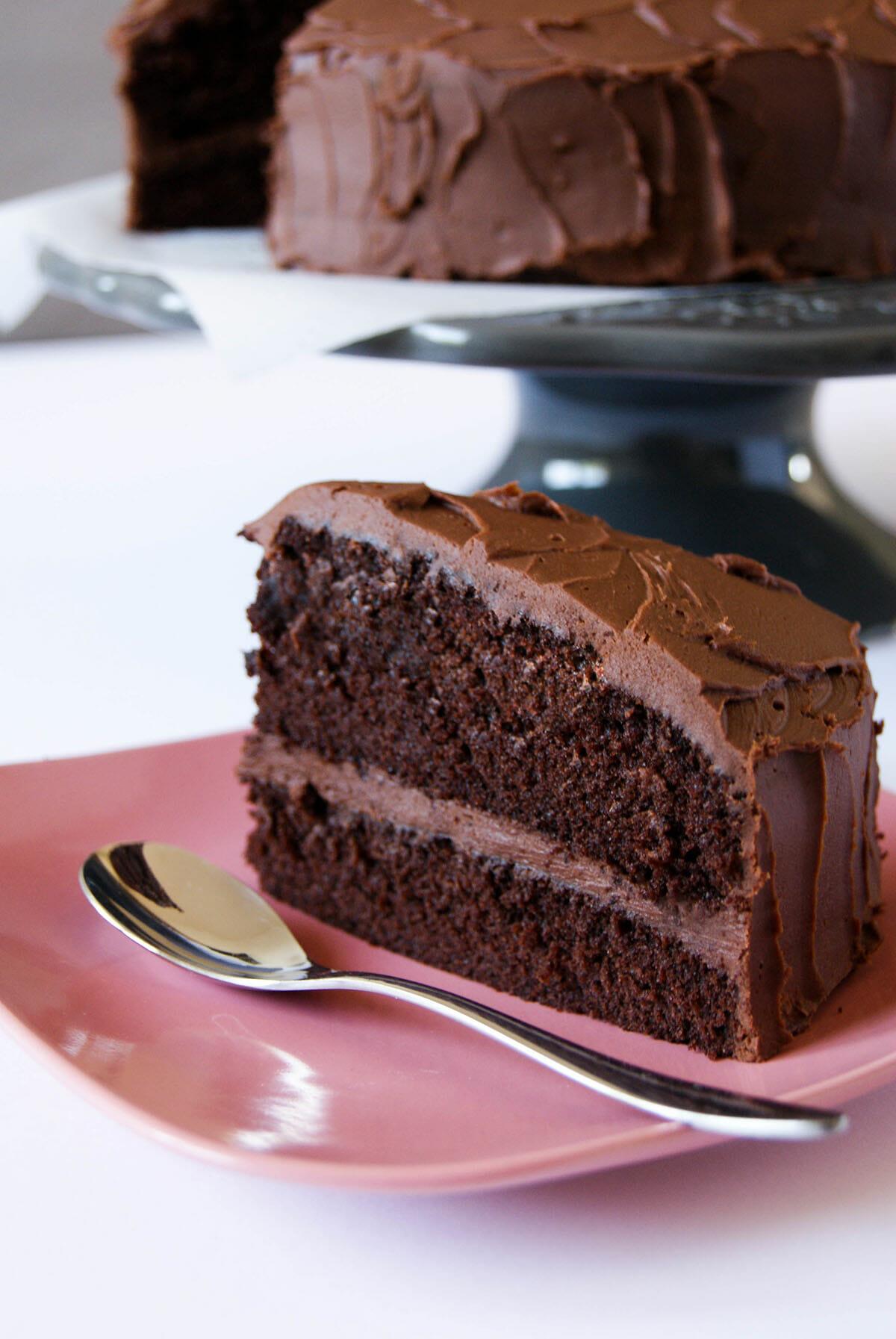 Devil's Food Cake | Lilie Bakery