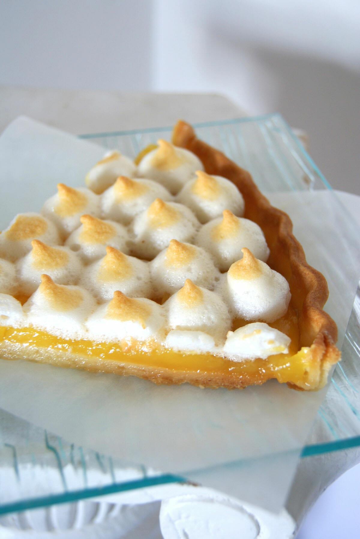 39 easy 39 tarte au citron meringu e lilie bakery - Recette tarte au citron simple ...