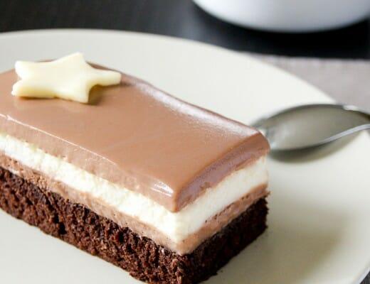bavarois trois chocolats