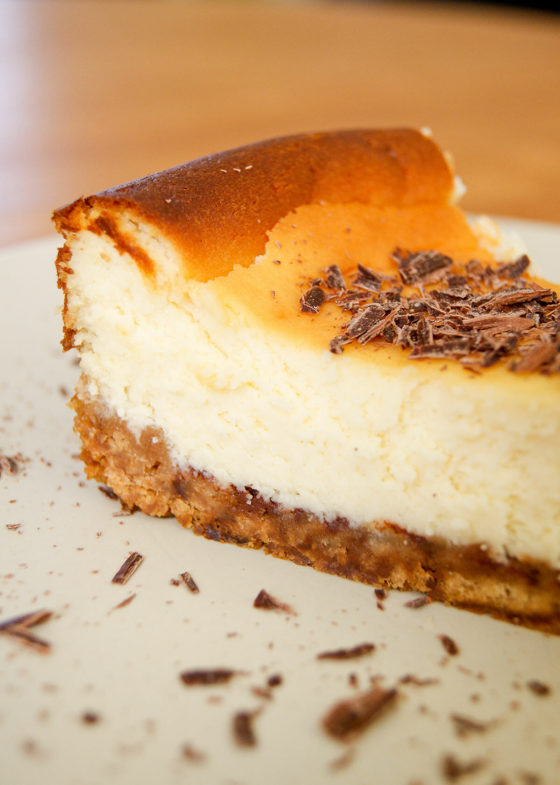 Cheesecake chocolat blanc - Lilie Bakery