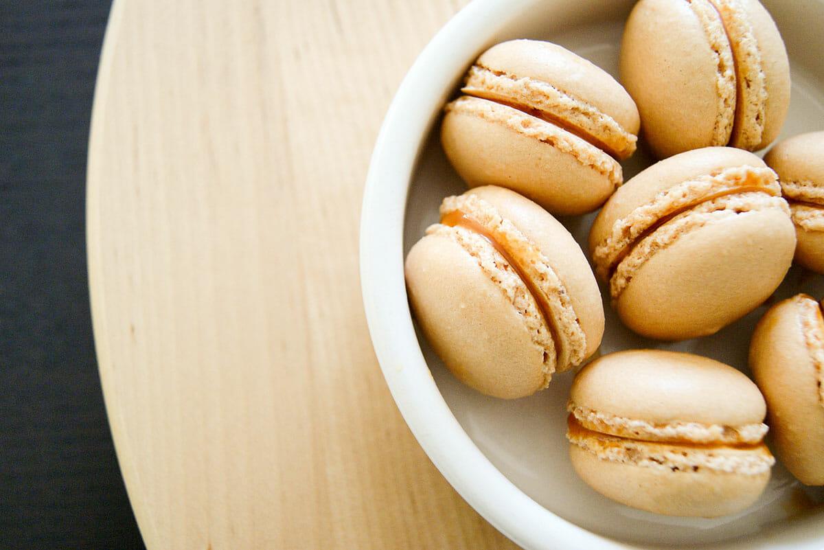 breizh macarons caramel beurre sal lilie bakery. Black Bedroom Furniture Sets. Home Design Ideas