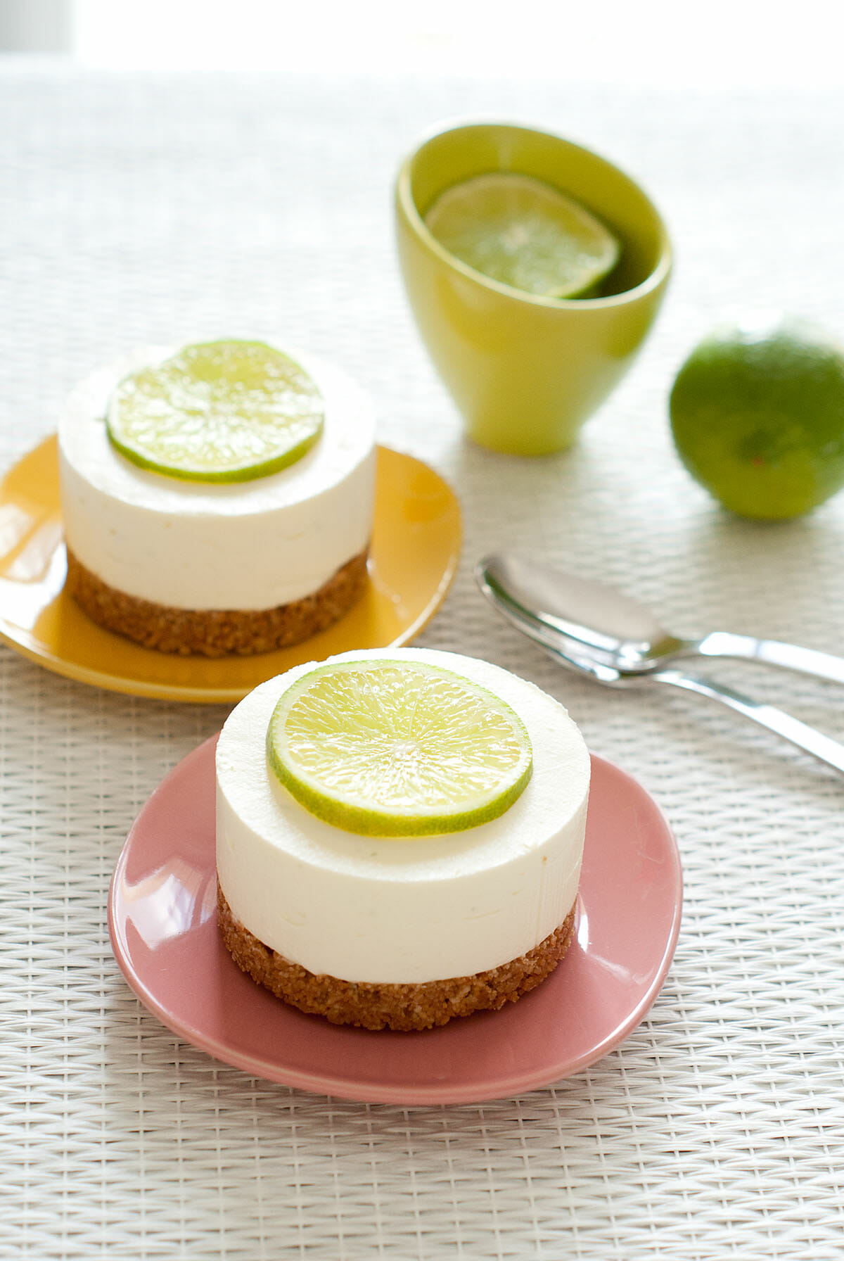 mini cheesecake glac au citron vert lilie bakery. Black Bedroom Furniture Sets. Home Design Ideas