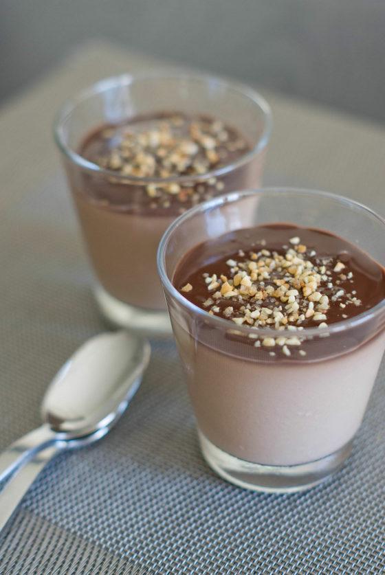 Panna Cotta aux Deux Chocolats | Lilie Bakery