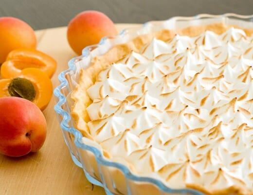 Tarte aux Abricots Meringuée {abricot curd} | Lilie Bakery