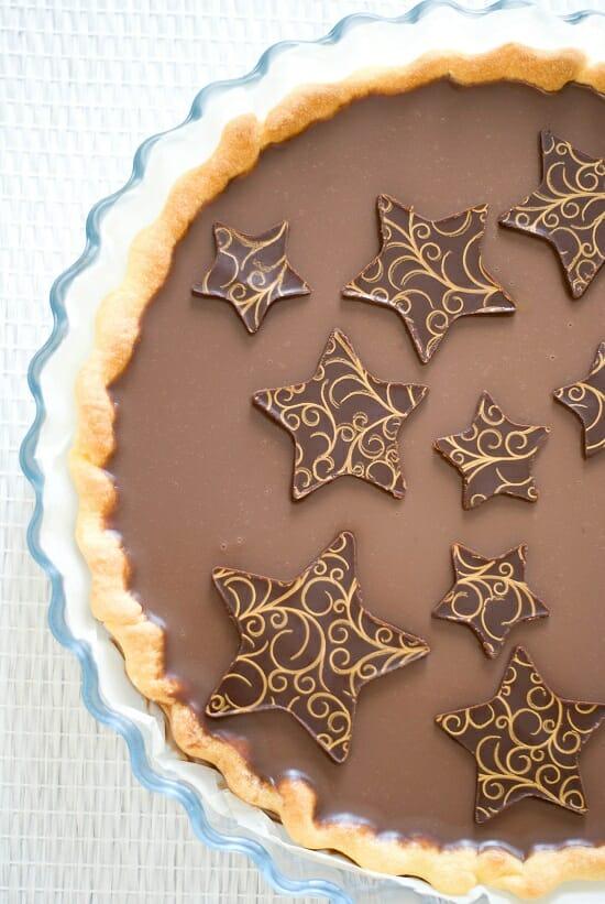Tarte Chocolat au Lait & Caramel Beurre Salé | Lilie Bakery 3