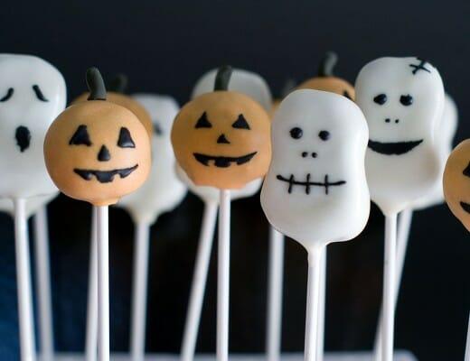 Cake Pops d'Halloween: Citrouilles, Fantômes & co | Lilie Bakery 3