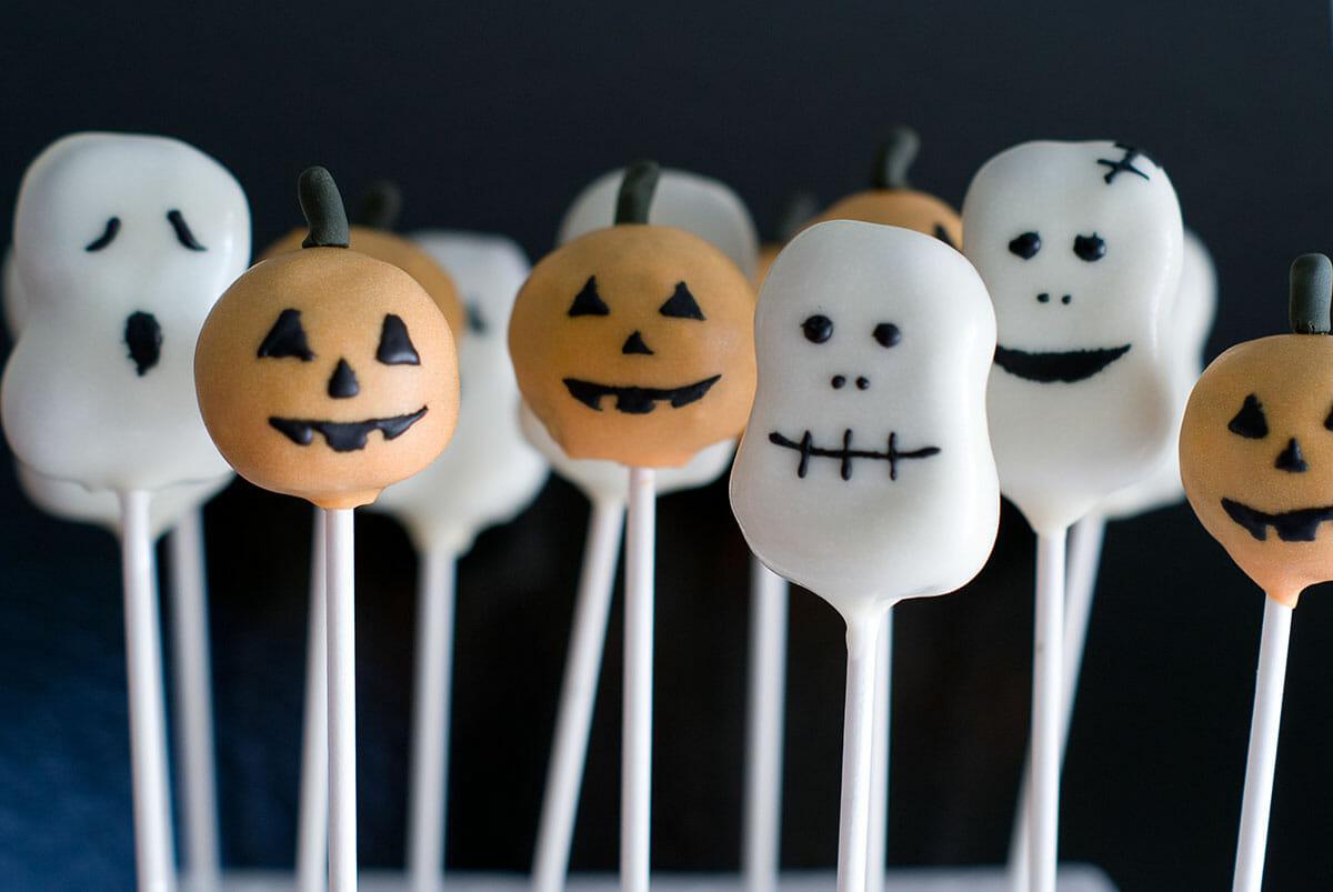 Cake Pops d'Halloween: Citrouilles, Fantômes & co   Lilie Bakery 3