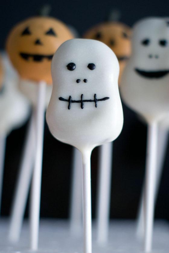 Cake Pops d'Halloween: Citrouilles, Fantômes & co | Lilie Bakery 4