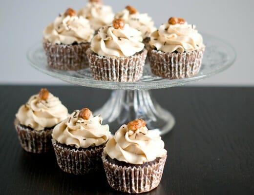 Cupcakes Chocolat & Beurre de Cacahuètes | Lilie Bakery 2