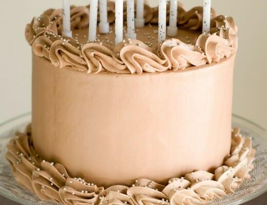 Mon {Beau} Gâteau d'Anniversaire au Chocolat | Lilie Bakery 1