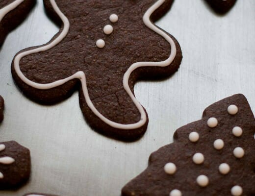 Christmas Cookies au Chocolat | Lilie Bakery 2