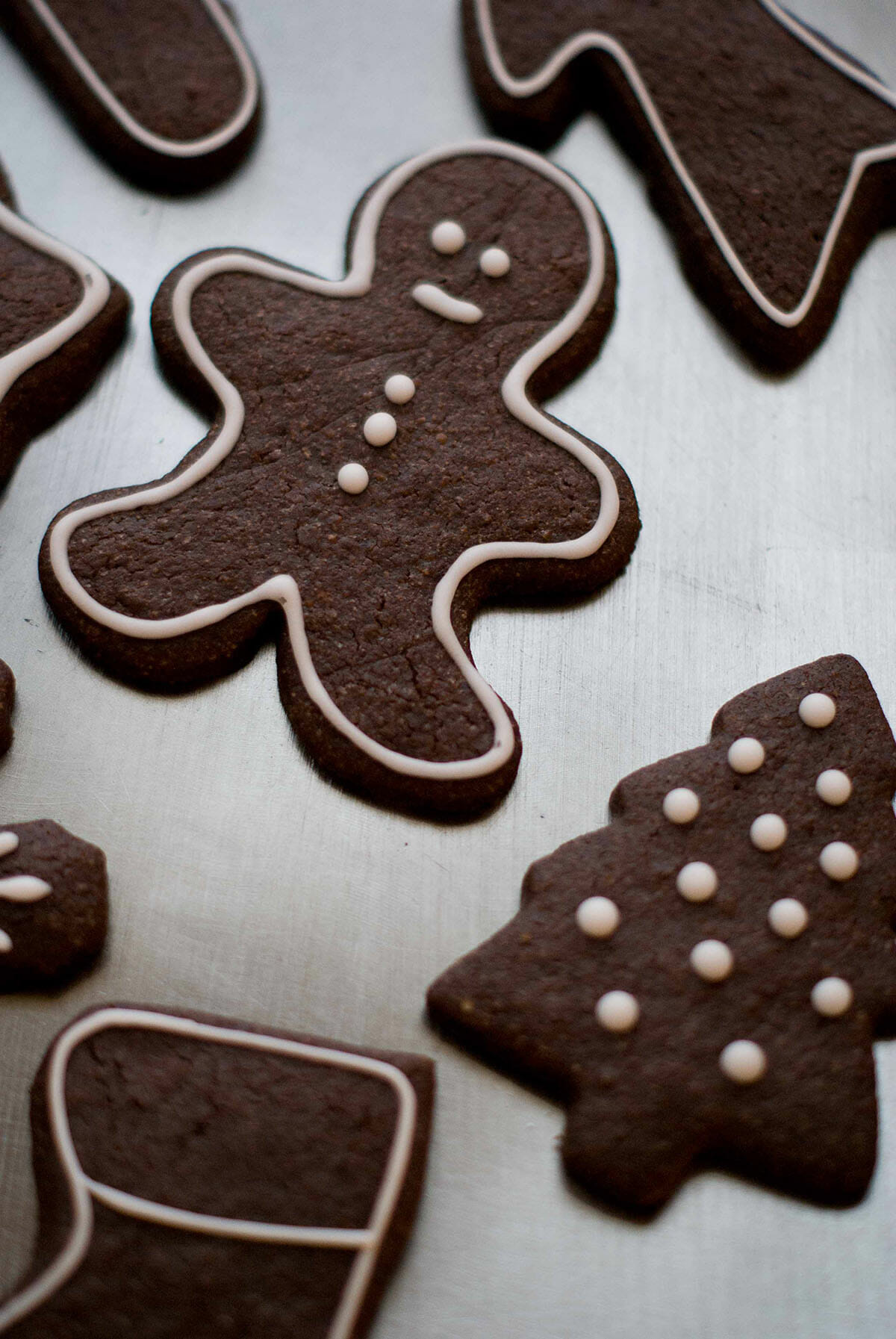 recette biscuit de noel au chocolat. Black Bedroom Furniture Sets. Home Design Ideas