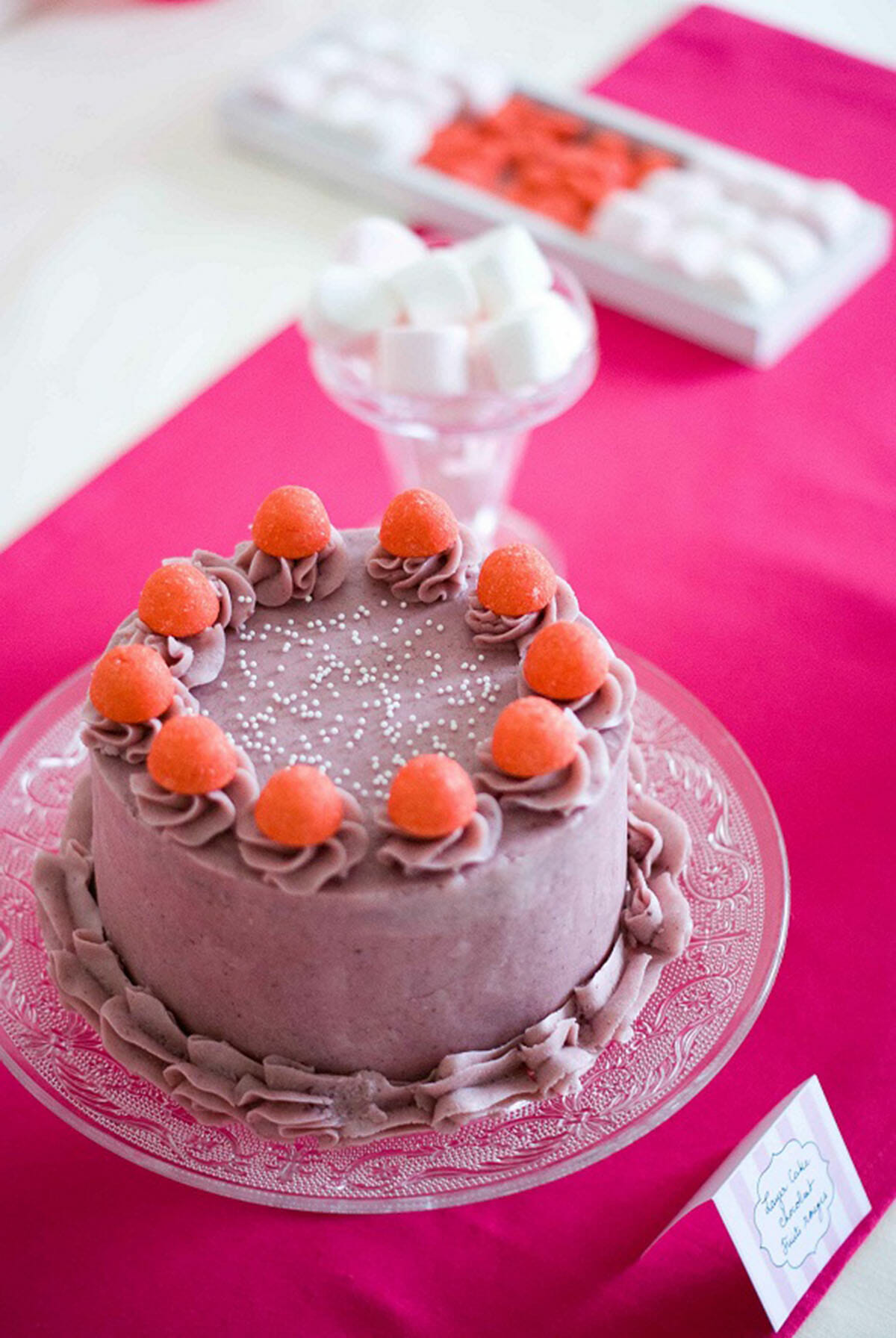 "Sweet Table ""Total Pink"" ! 