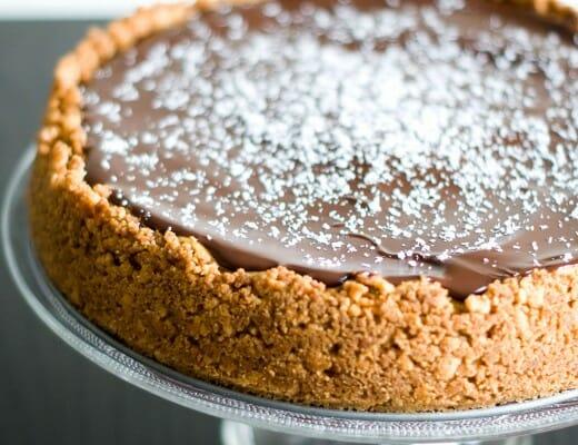 Cheesecake Noix de Coco & Chocolat Noir | Lilie Bakery 1