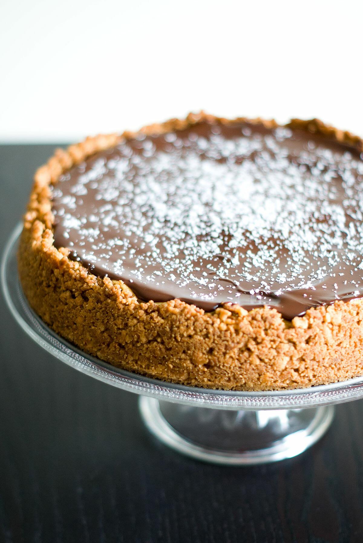 Cheesecake Noix De Coco Amp Chocolat Noir Lilie Bakery