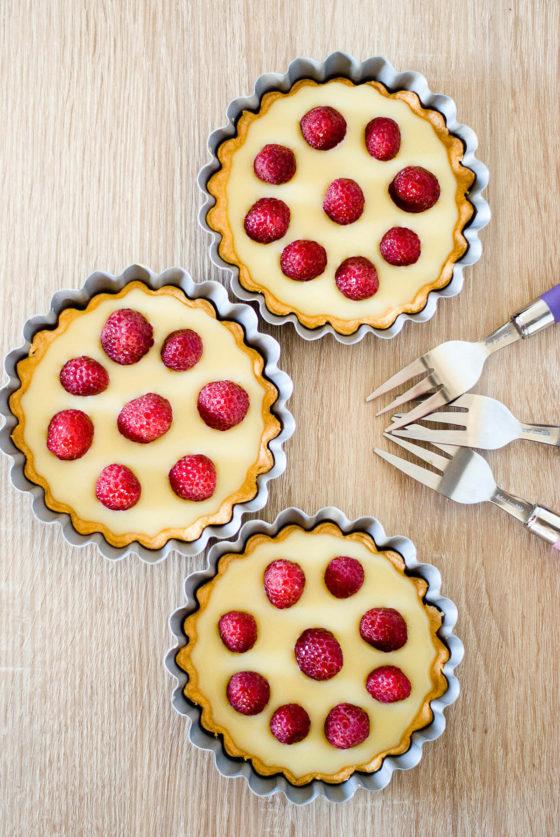 Tartelettes Framboises Chocolat Blanc | Lilie Bakery 1