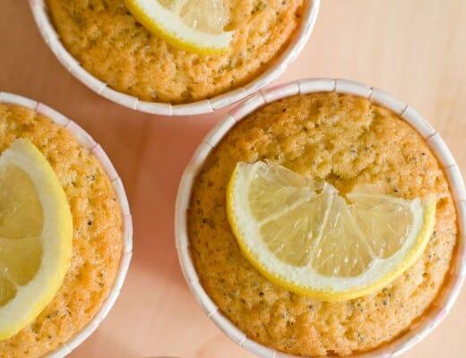 Muffins Citron-Pavot | Lilie Bakery 1