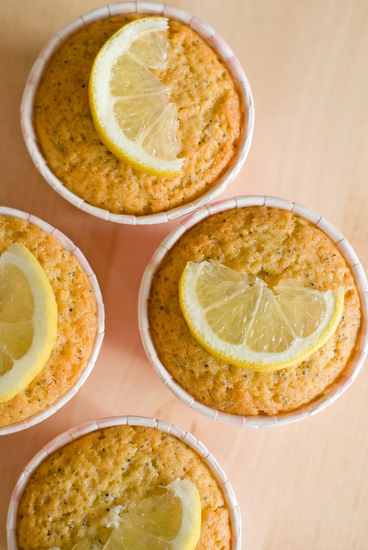 Muffins citron pavot lilie bakery - Recette saine et equilibree ...