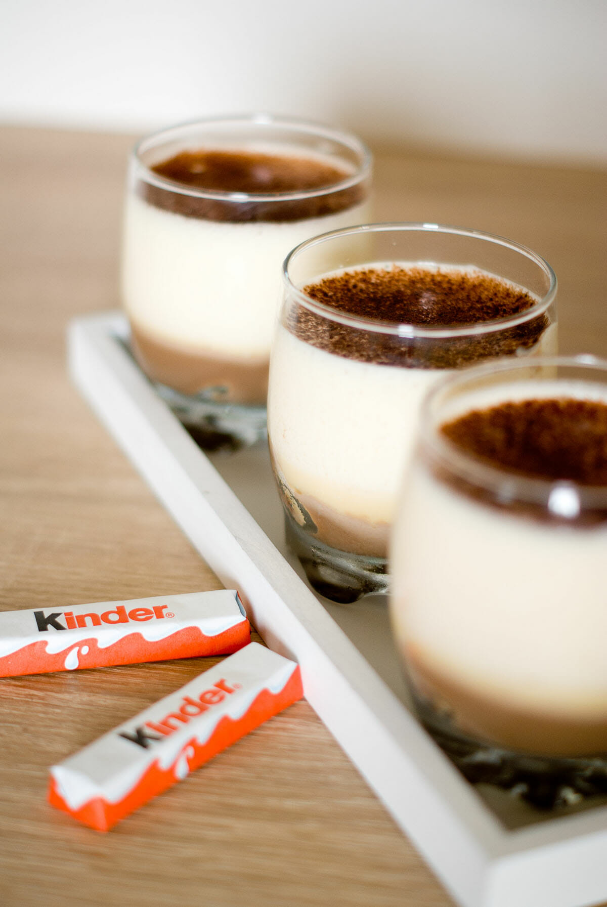 recette tiramisu chocolat kinder