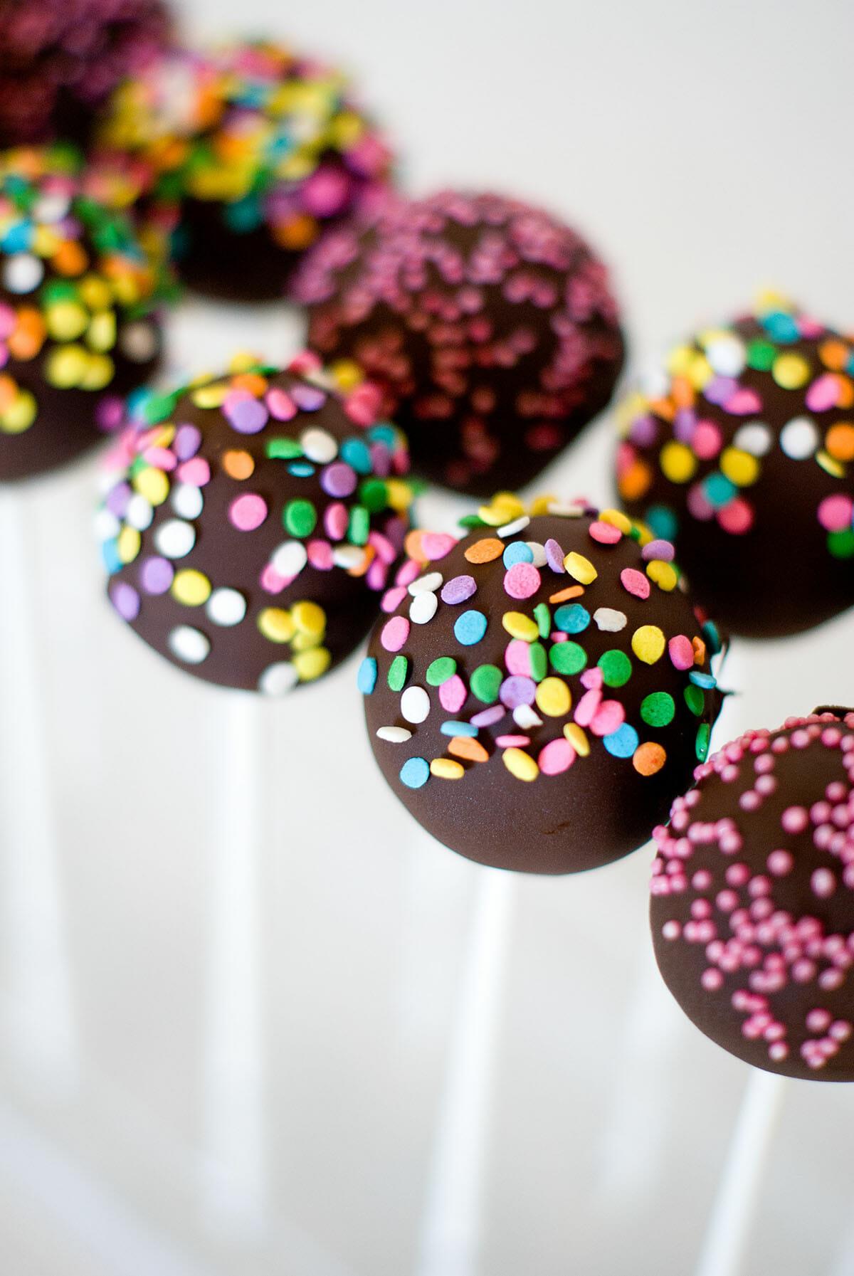 Cake Pops Chocolat Mascarpone