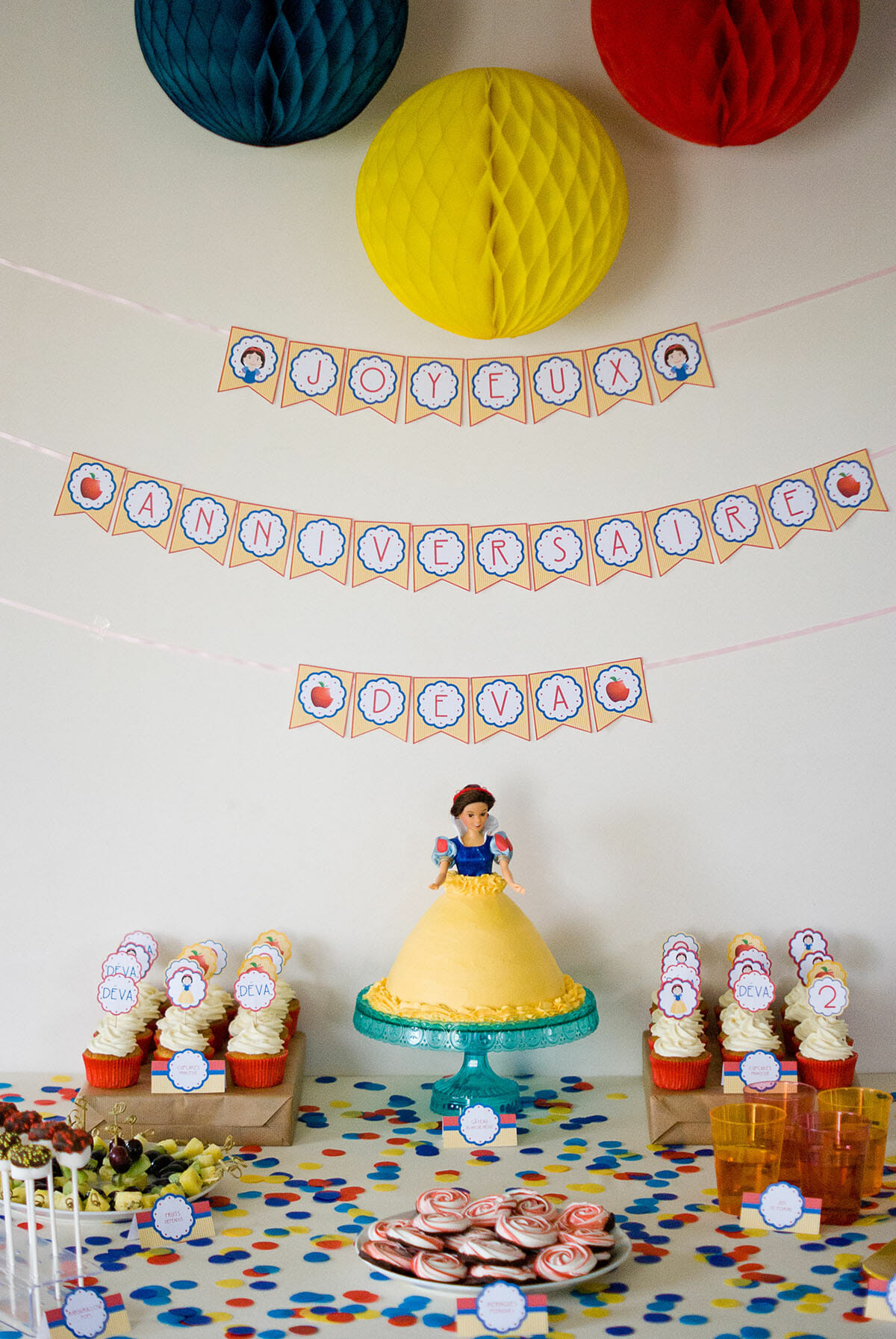 Sweet Table Princesse Blanche-Neige | Lilie Bakery 7