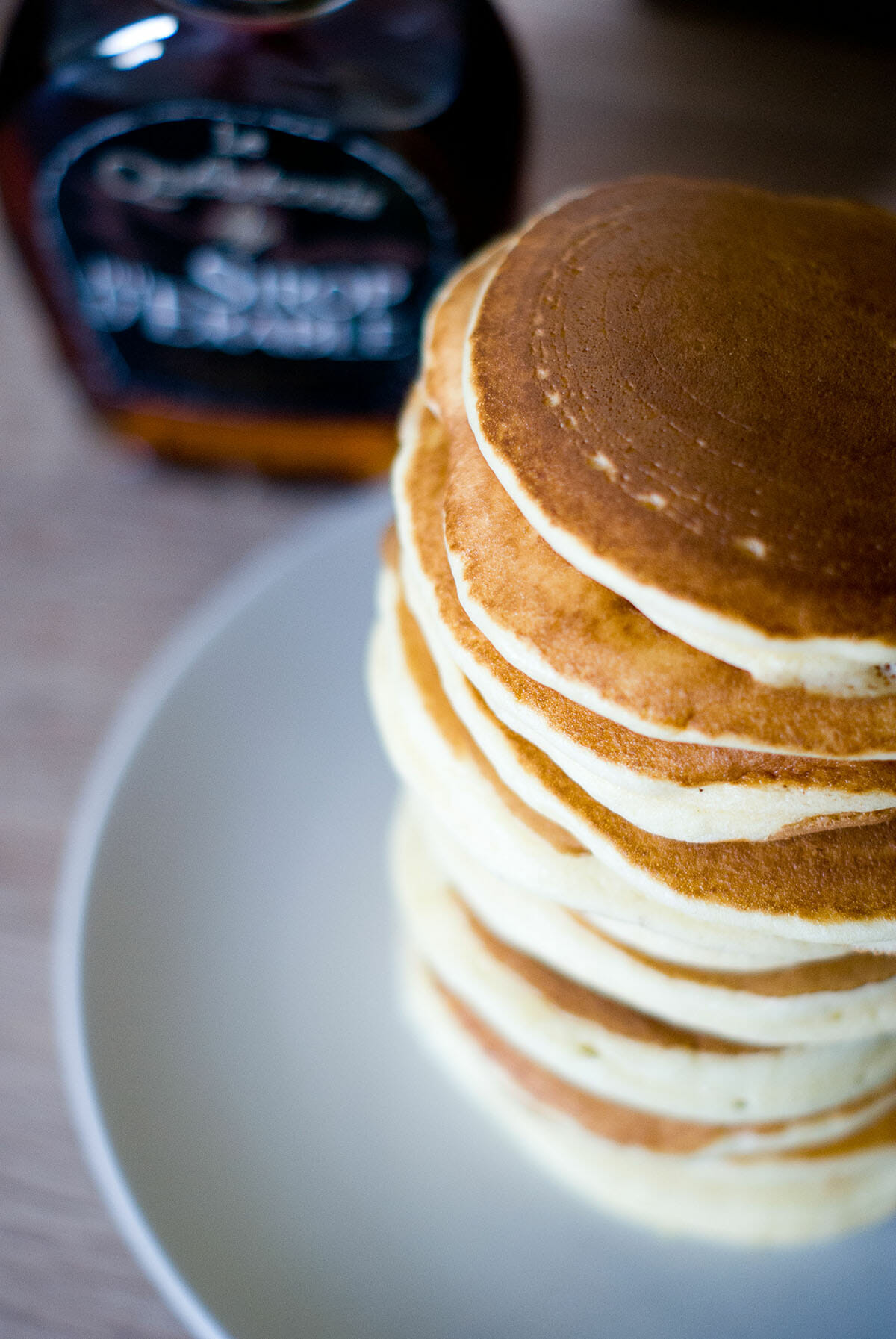 Pancakes américains ultra moelleux zoom - Lilie Bakery