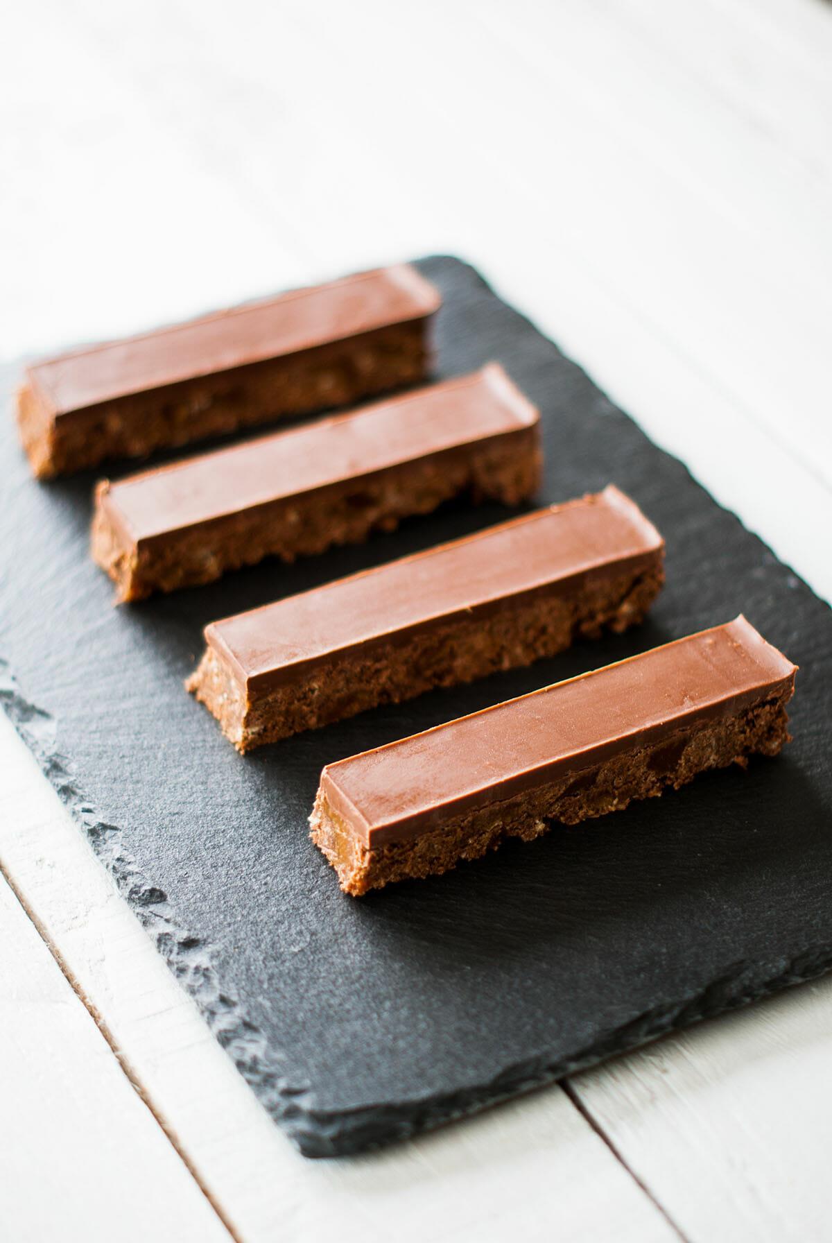 Barres Chocolat-Caramel Façon Twix®   Lilie Bakery 2