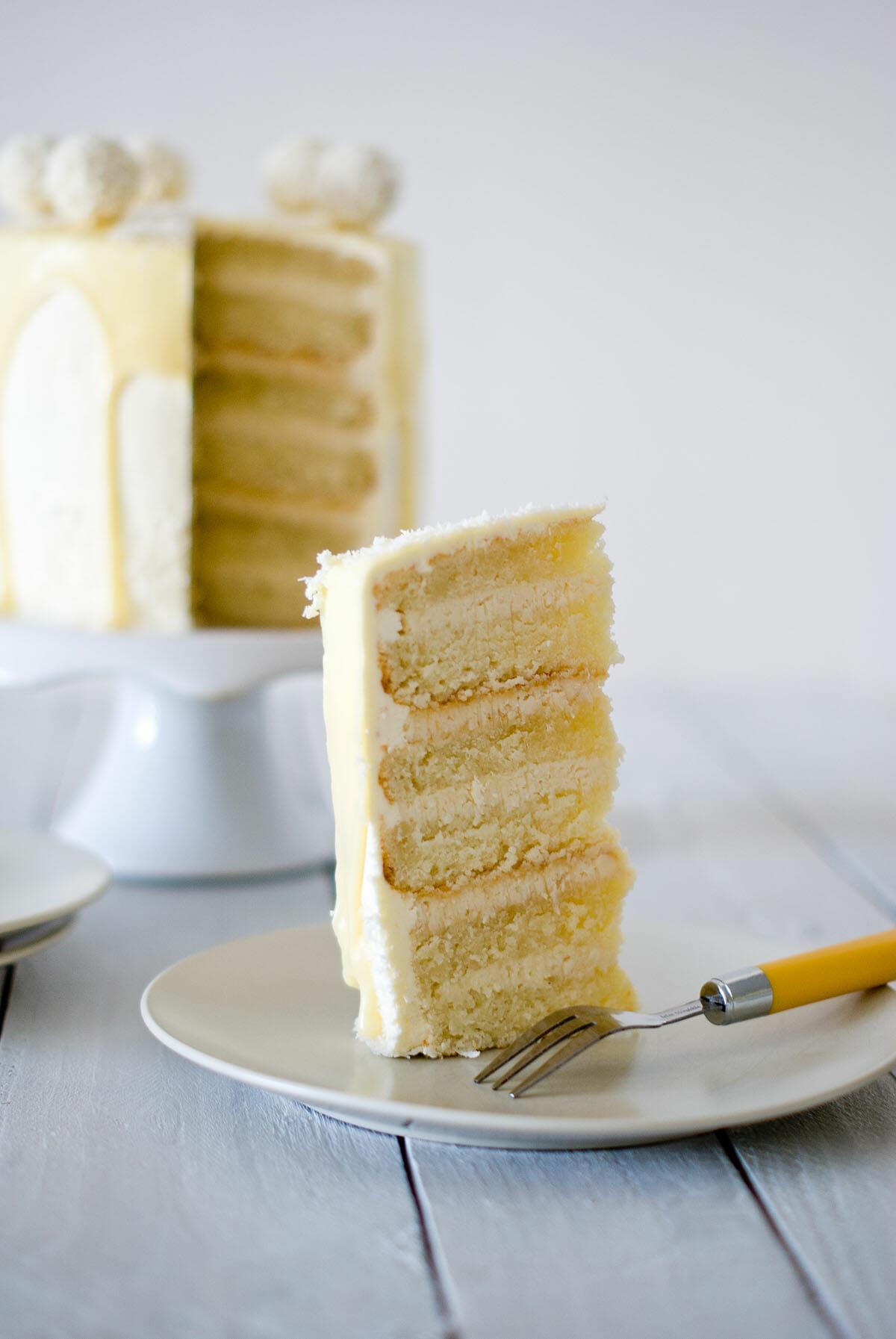 Layer Cake Raffaello Facile