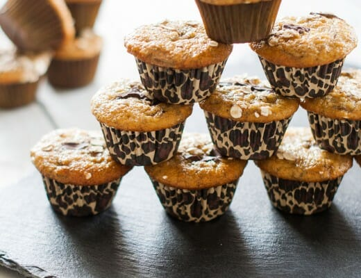 Mini-Muffins Banane & Chocolat | Lilie Bakery 3