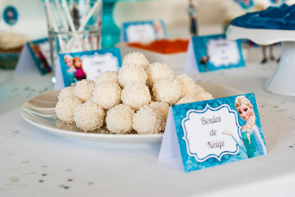 "Bien connu Sweet Table } Anniversaire ""Reine des Neiges"" | Lilie Bakery IU84"