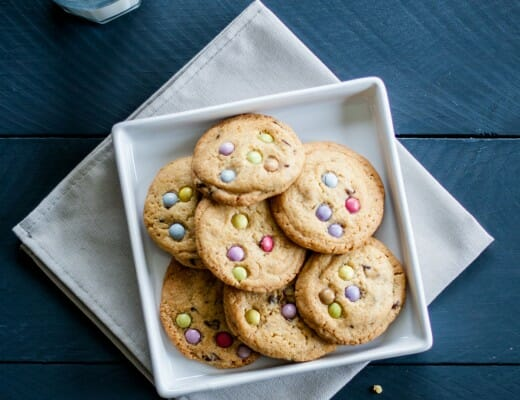 Cookies aux Smarties® | Lilie Bakery 1