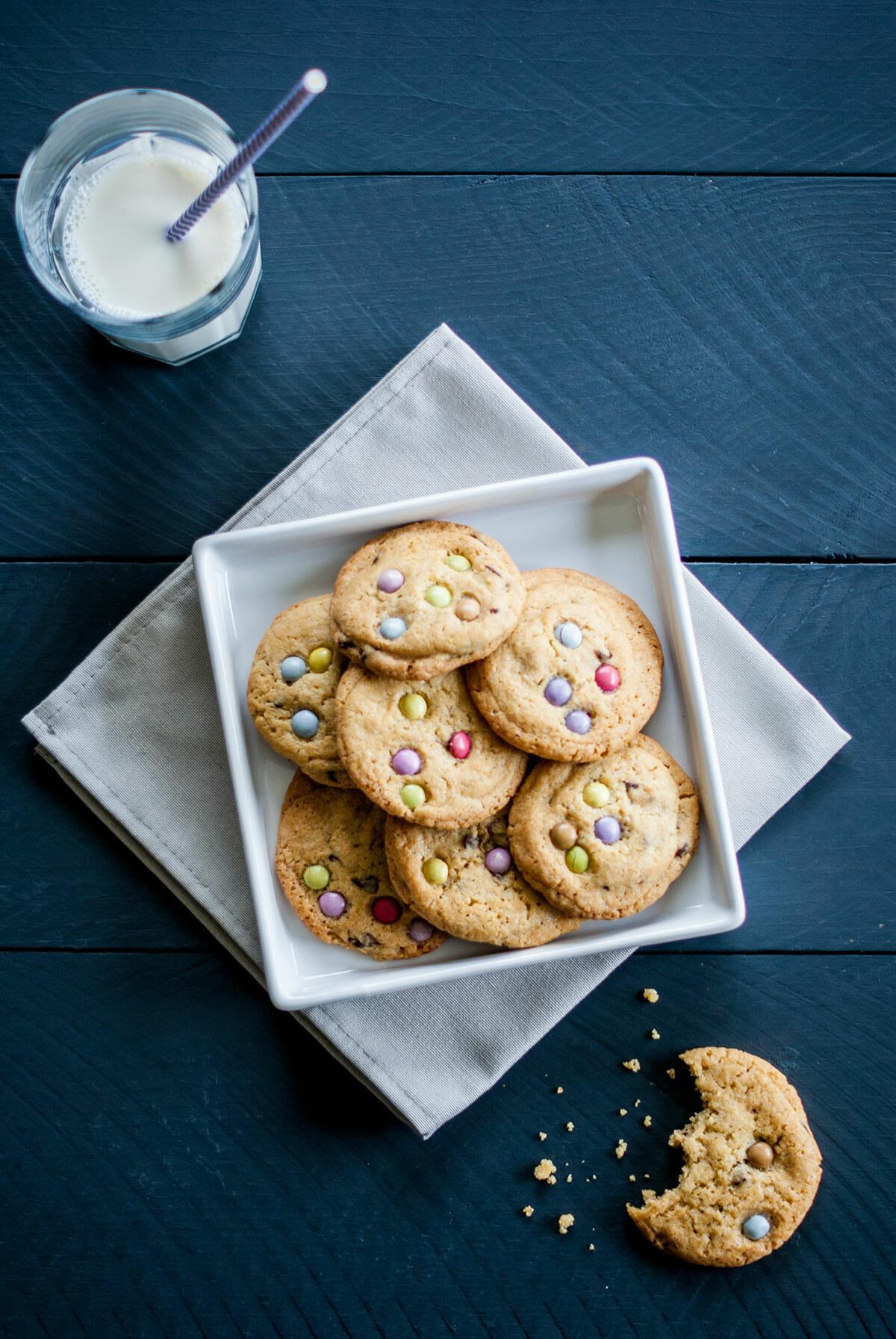 Cookies aux Smarties®   Lilie Bakery 1
