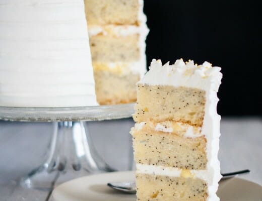 Layer Cake Citron-Pavot | Lilie Bakery 3