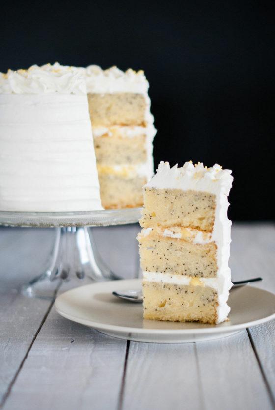 Layer Cake Citron-Pavot | Lilie Bakery 3