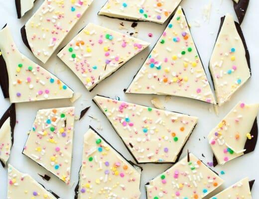 "Bark ""Girly"" au Chocolat Noir & Blanc | Lilie Bakery 1"