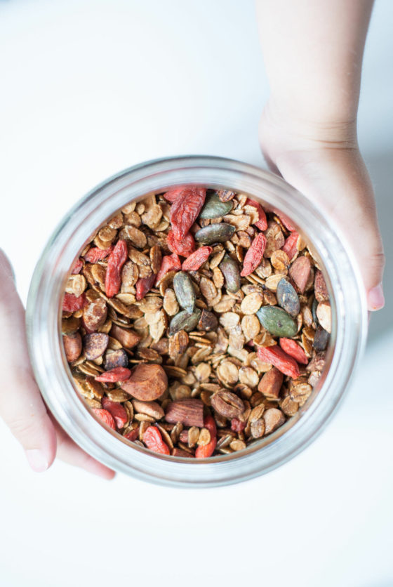 """Granola """"Booster"""" 