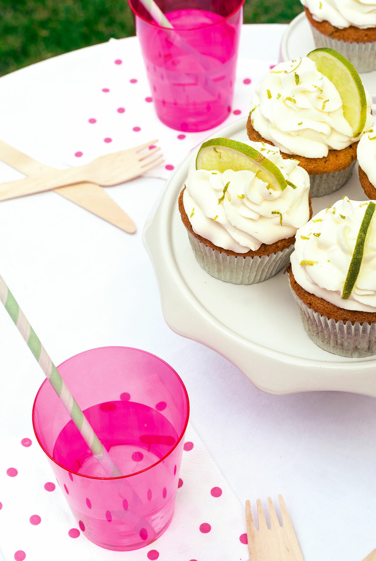 Cupcakes Mojito | Lilie Bakery