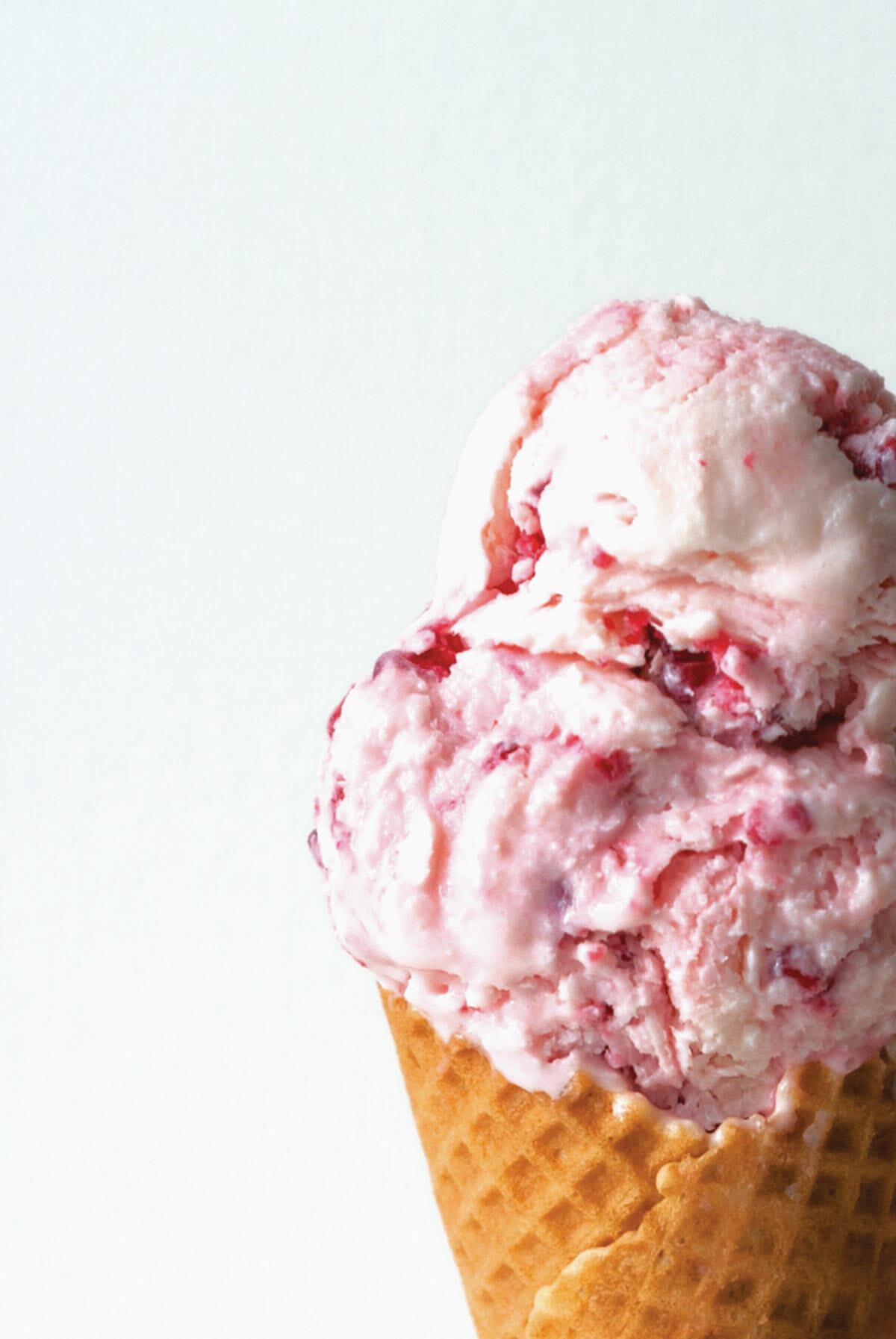 Glace yaourt framboise | Lilie Bakery