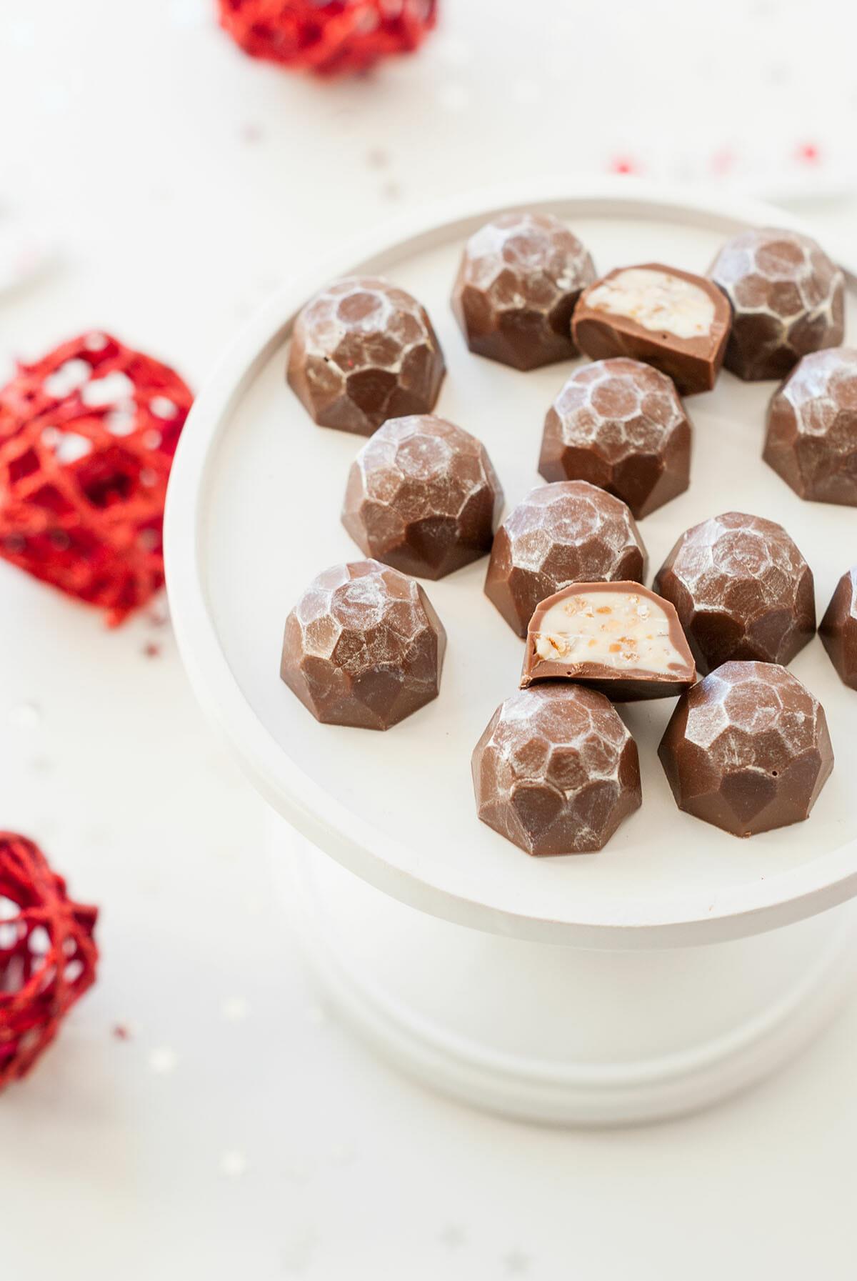 Lilie Bakery | Chocolats Façon Kinder® Schoko-bons { DIY Noël } 1