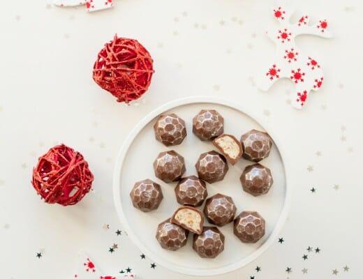 Chocolats Façon Kinder® Schoko-bons { DIY Noël } | Lilie Bakery 2