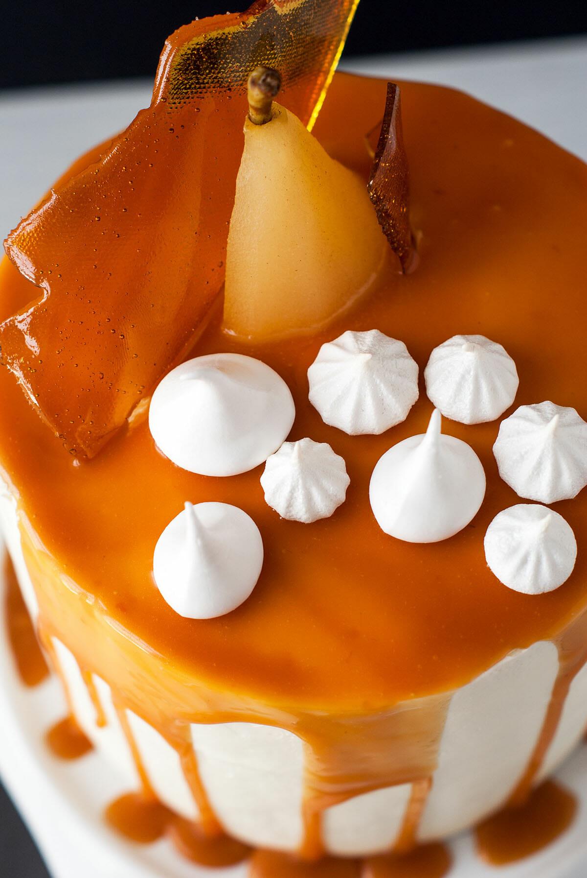 Layer Cake Poires Caramel