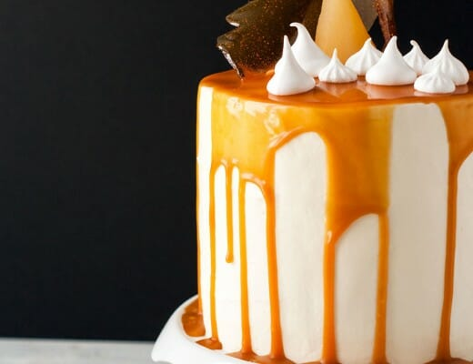 Layer Cake Poire-Caramel | Lilie Bakery 1