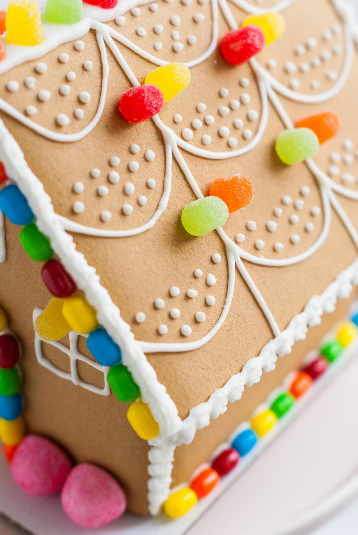 Lilie Bakery | Maison en pain d'épices { DIY Noël } 2