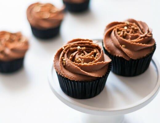 Cupcakes Vanille & Chocolat au Lait | Lilie Bakery 2
