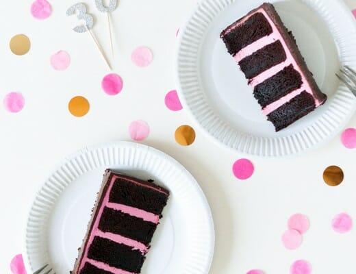Layer cake chocolat framboise | Lilie Bakery