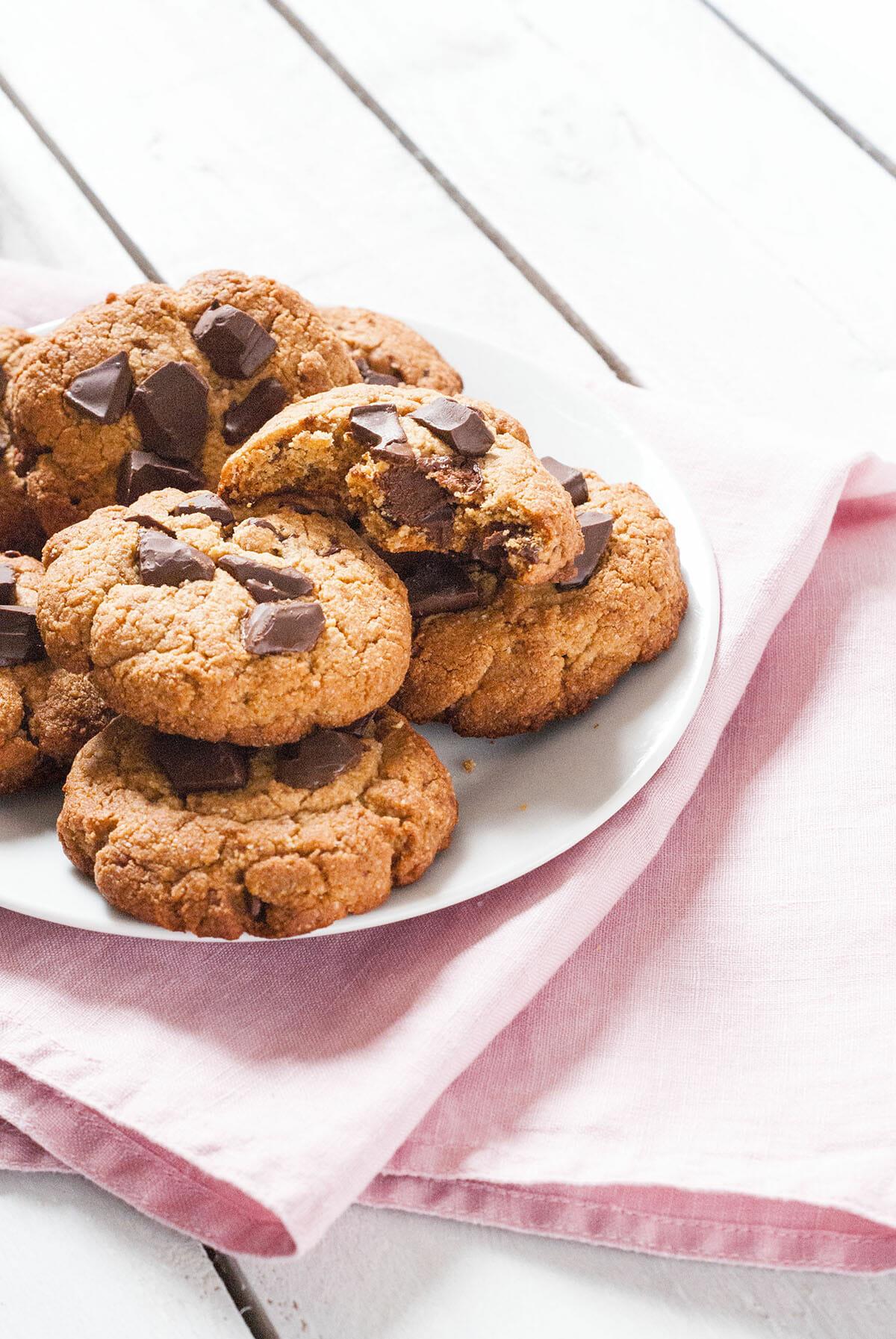 Cookies Pépites Chocolat Sans Gluten Sans Lait | Lilie Bakery