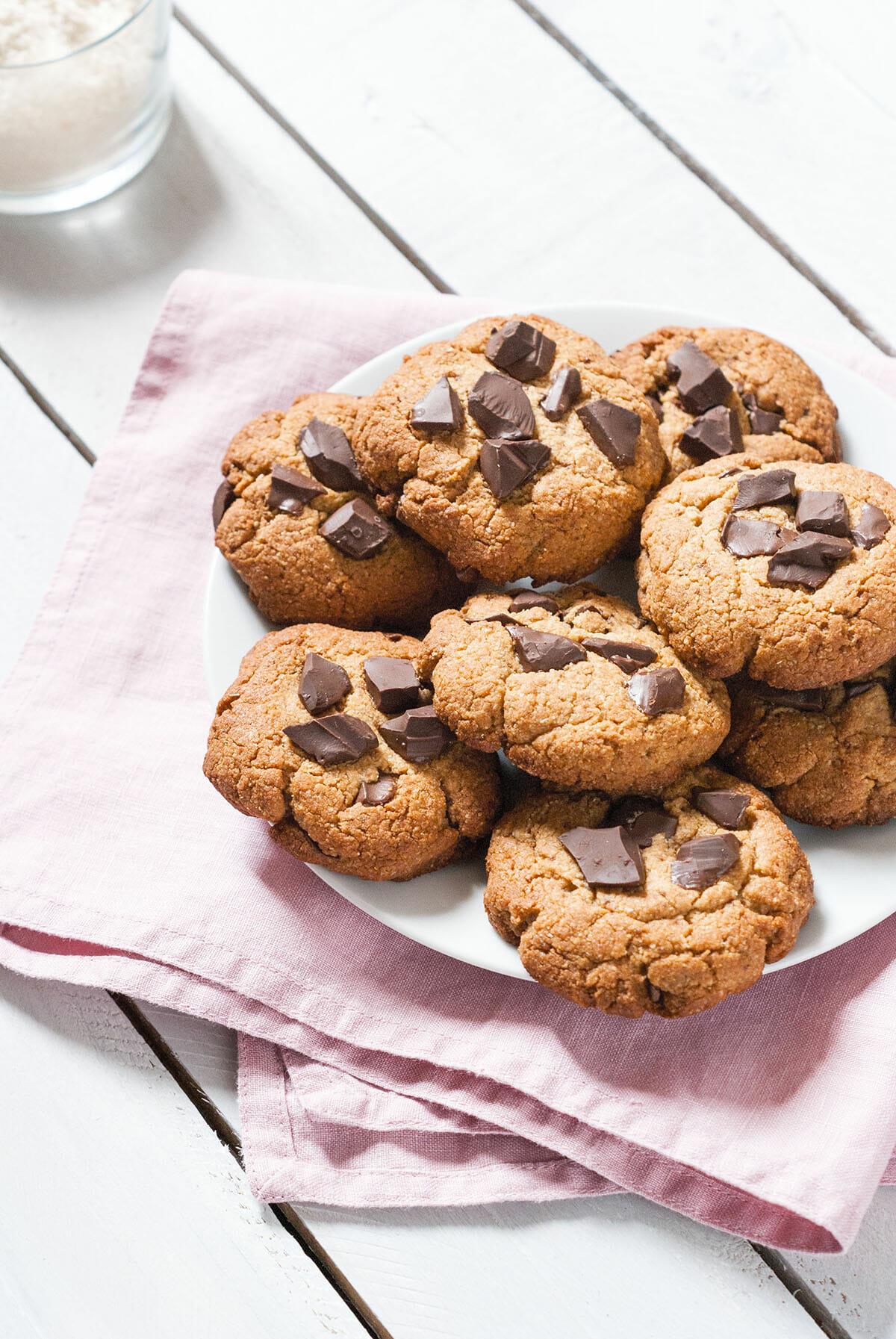 cookies au chocolat sans gluten sans lait lilie bakery. Black Bedroom Furniture Sets. Home Design Ideas