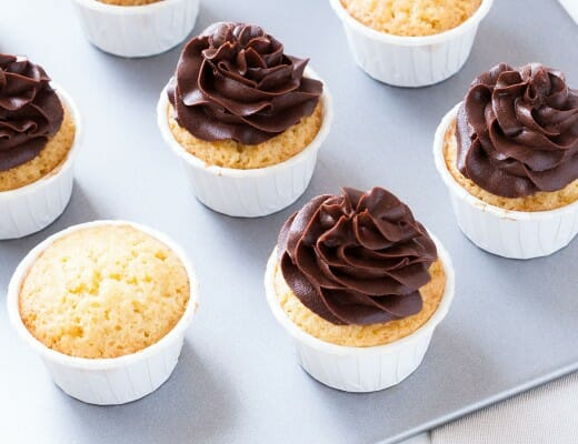 Cupcakes-vanille-chocolat-café | Lilie Bakery