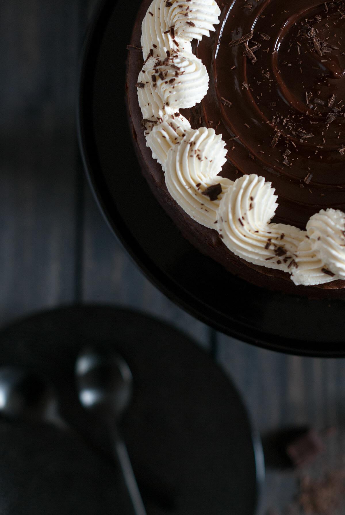Cheesecake chocolat   Lilie Bakery