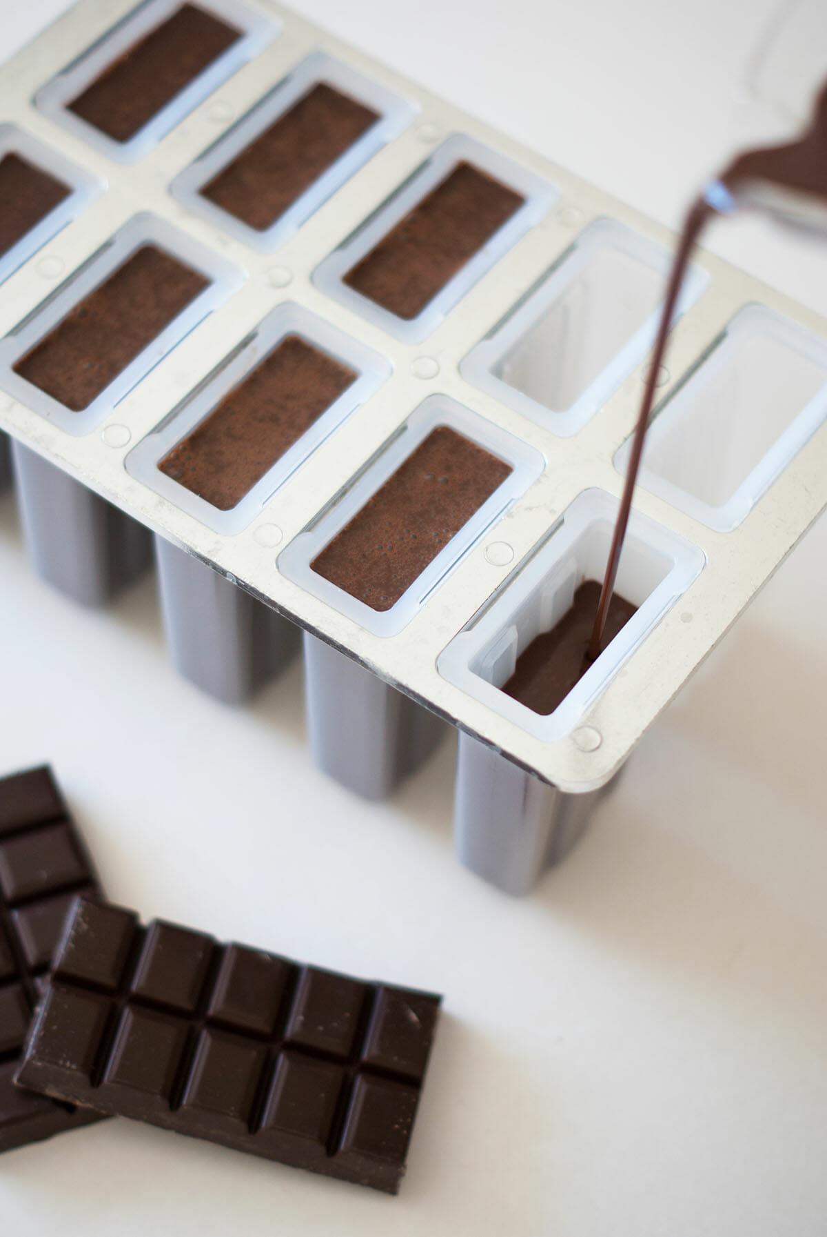 b tonnets glac s chocolat fudge lilie bakery. Black Bedroom Furniture Sets. Home Design Ideas